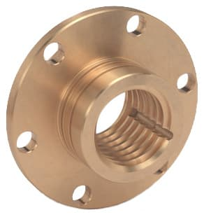 Bronze flange nuts and lead screw nuts