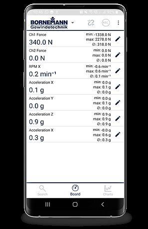 Smartes Gewinde App